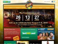 Beerfestival - Screenshot - Homepage