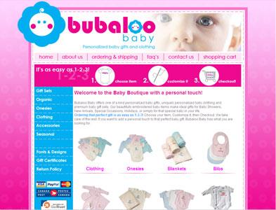 Bubaloo - Screenshot - Homepage