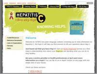 CATIE - Screenshot - Homepage