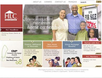 HLC - Screenshot - Homepage