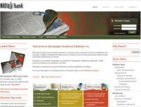NADbank - Screenshot - Homepage