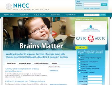 NHCC - Screenshot - Homepage