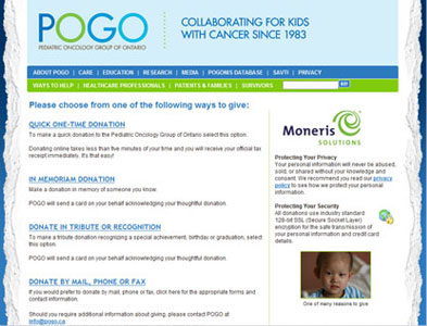 POGO - Screenshot - Homepage