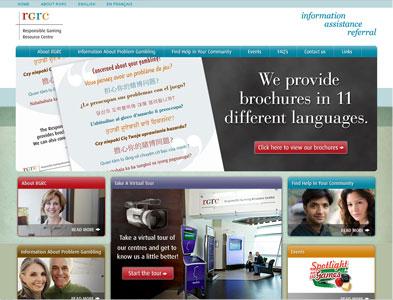 RGRC - Screenshot - Homepage