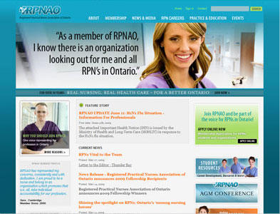 RPNAO - Screenshot - Homepage