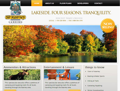 SirKearney - Screenshot - Homepage