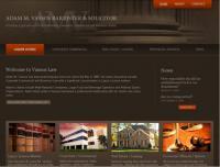 Vassos Law - Screenshot - Homepage